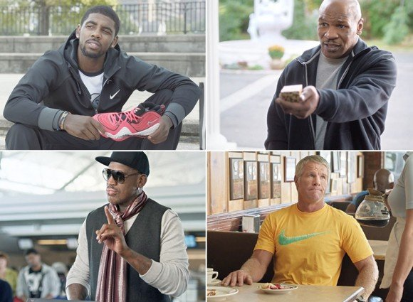 Foot Locker #WeekOfGreatness 2013 With Kyrie Irving Dennis Rodman Brett Favre Mike Tyson More