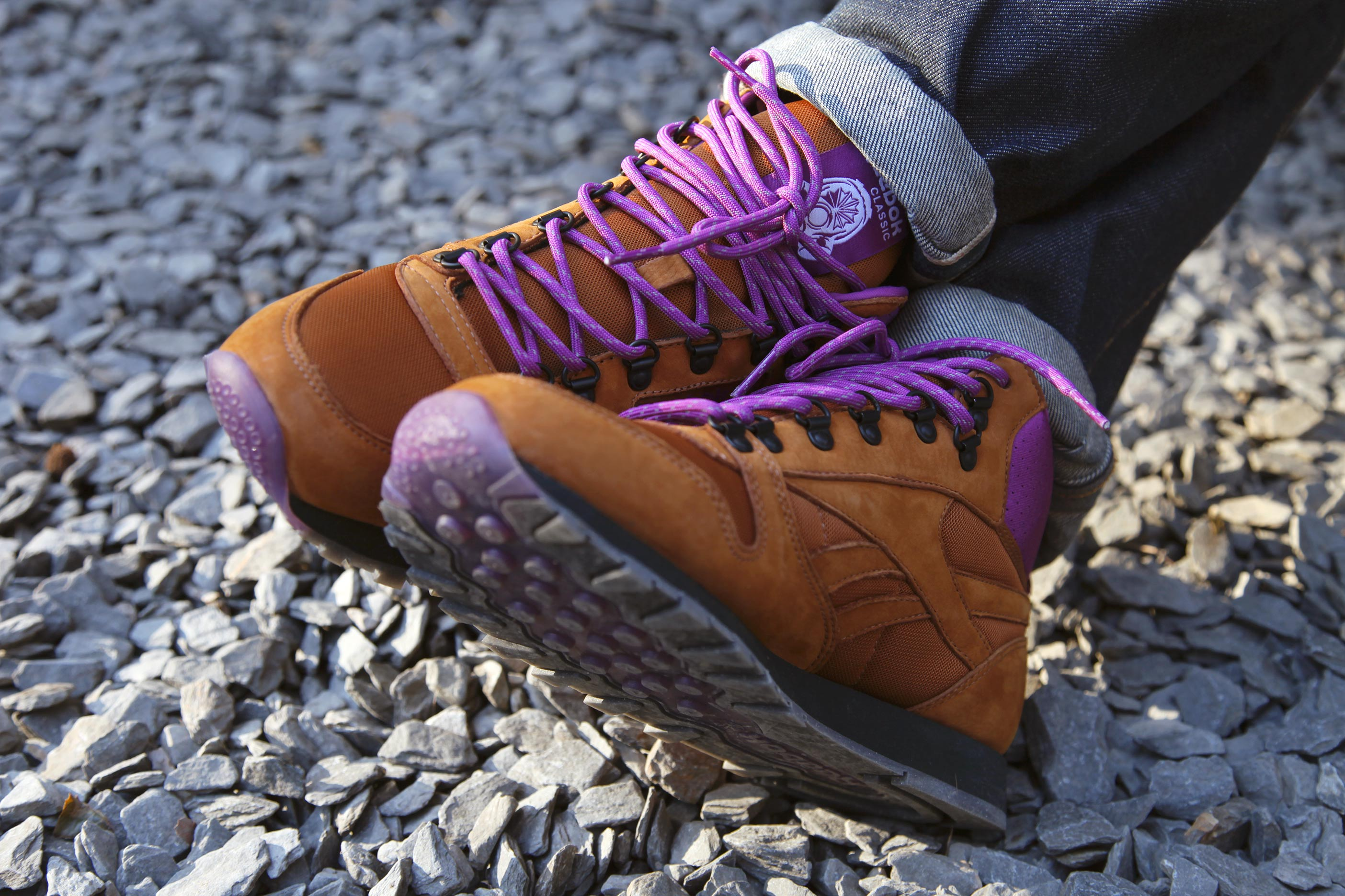 Foot Patrol x Reebok Classic Leather Mid 'On The Rocks