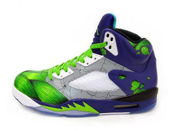 Air Jordan 5 Smash Customs by Sekure D