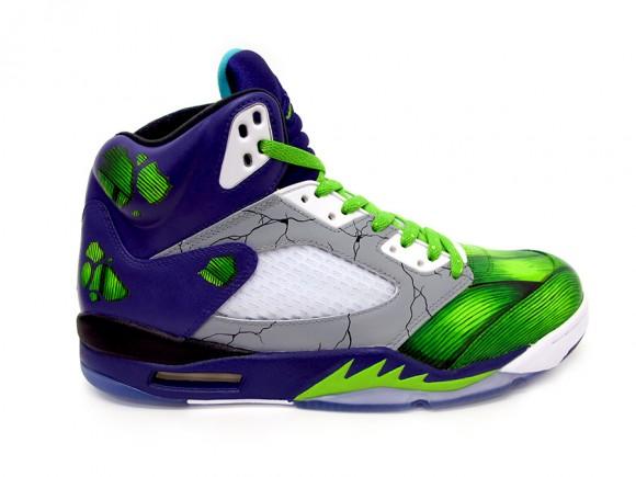Air Jordan 5 Smash Customs by Sekure D
