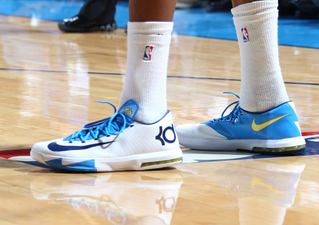 kevin durant debuts new nike kd vi 6 - Kevin Durant Shoes Coloring Pages