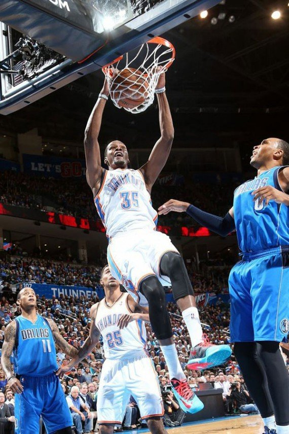Kevin Durant Hits the Court in the Nike KD 6 N7