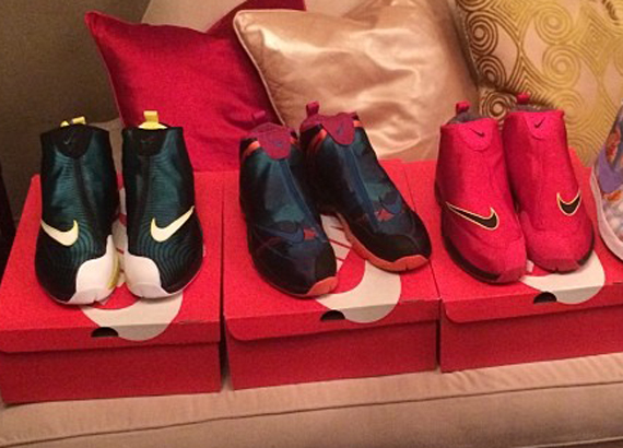 Kevin Durant Shows Off Nike Air Zoom Flight The Glove Hook-ups
