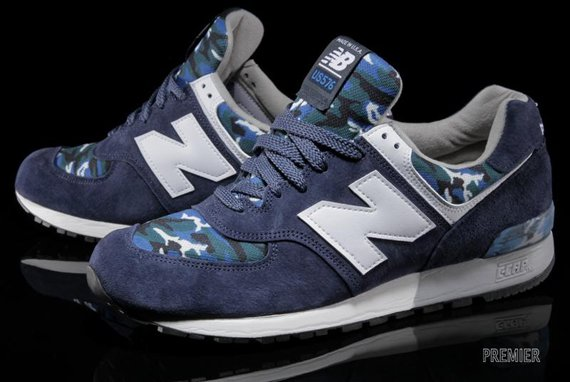 New Balance 576 Camo Navy Now Available