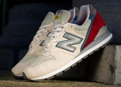 New Balance 996 – Beige – Red – Blue