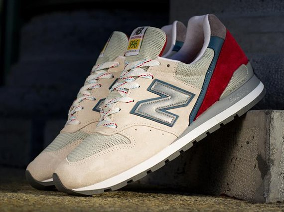 new balance 996 beige green