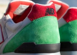 New Balance 996 – Grey – Red – Green