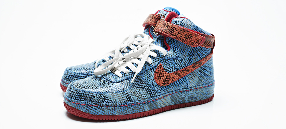 nike air force 1 high id for stalley
