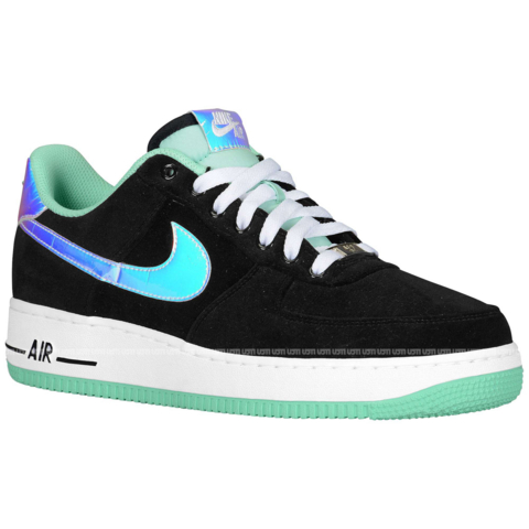 nike-air-force-1-low-black-shiny-silver-green-glow-release-date-info