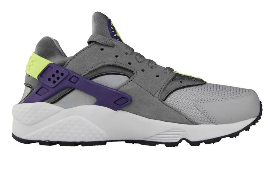 1a1bb3b9abec Nike Air Huarache  Wolf Grey Purple-Volt
