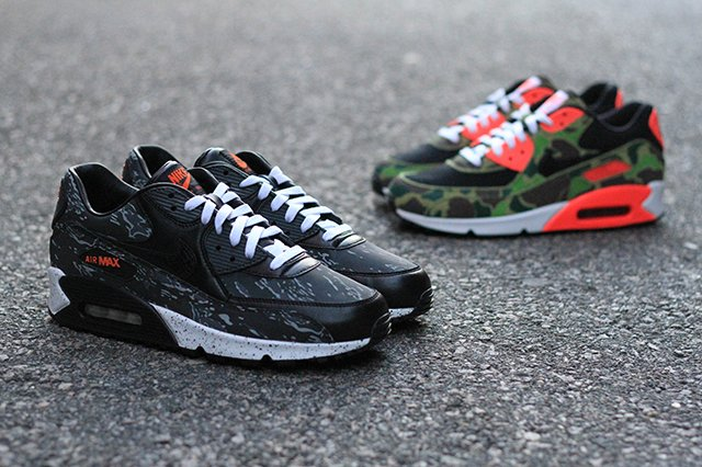nike air max 90 atmos camo packem