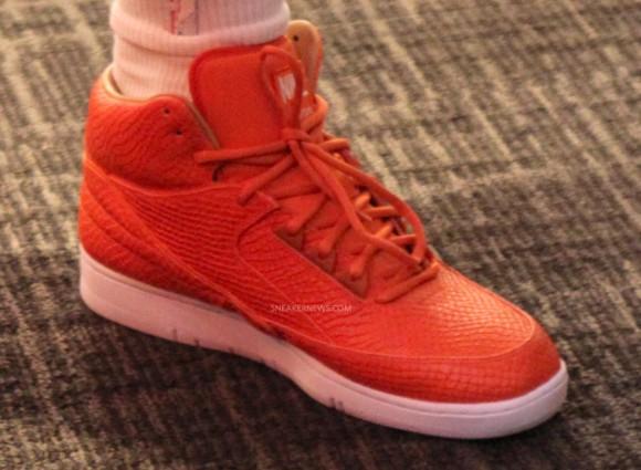 Nike Air Python Orange JR Smith PE