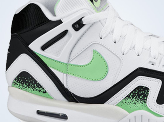 Nike Air Tech Challenge II White Black Lime