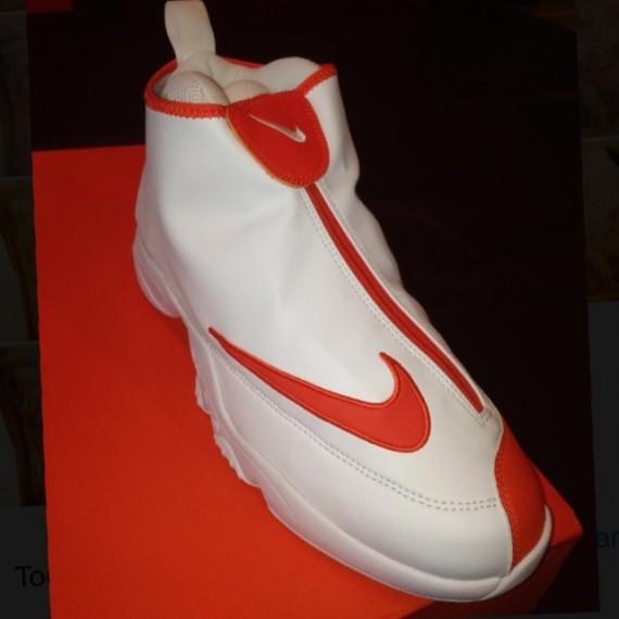 Nike Air Zoom Flight The Glove White Orange
