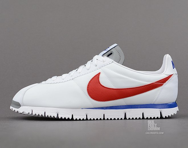 nike cortez nm qs white