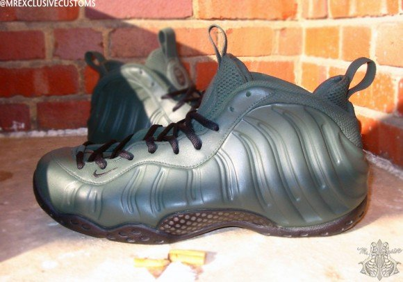 Nike Foamposite One Gun Hill BX Front Line by Mr Exclusive Customs
