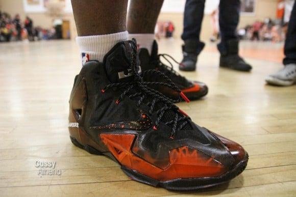 Nike Foamposite One & Nike LeBron XI Grant Lancer High by DEZ Customz