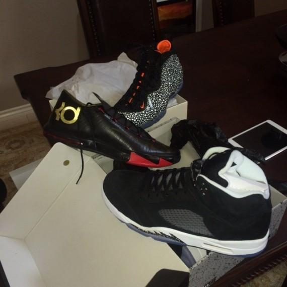 Nike KD 6 Black Red Gold