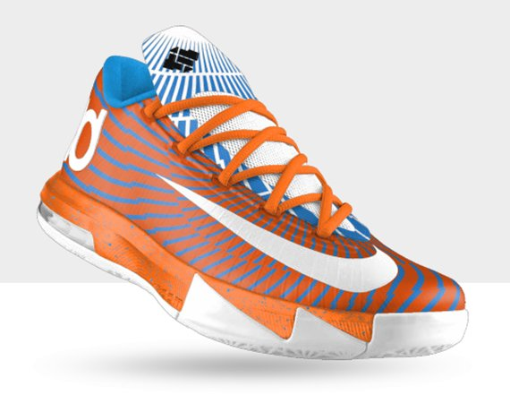 NIKEiD KD 6 Precision Option Now Available