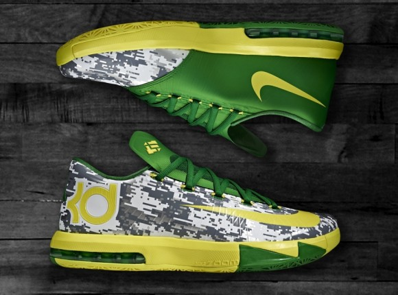 Nike KD 6 Oregon Armed Forces Classic PE Detailed Look