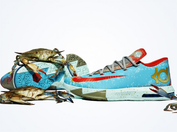 "01f94aae4f76 Nike KD VI ""Maryland Blue Crab"" - Yet Another Detailed Look ..."
