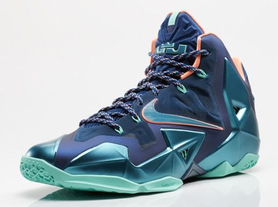 Nike LeBron 11 Akron vs. Miami Official Images