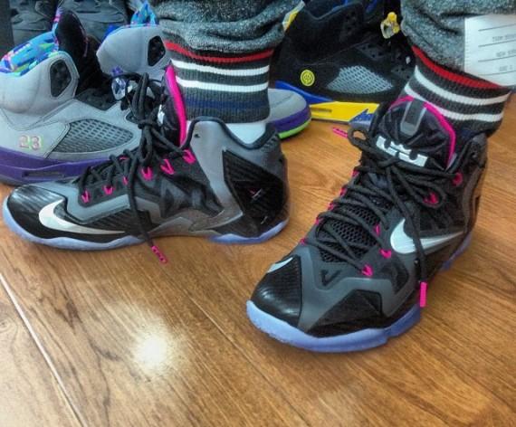 "Nike LeBron 11 ""Carbon Fiber"" – On-Foot"