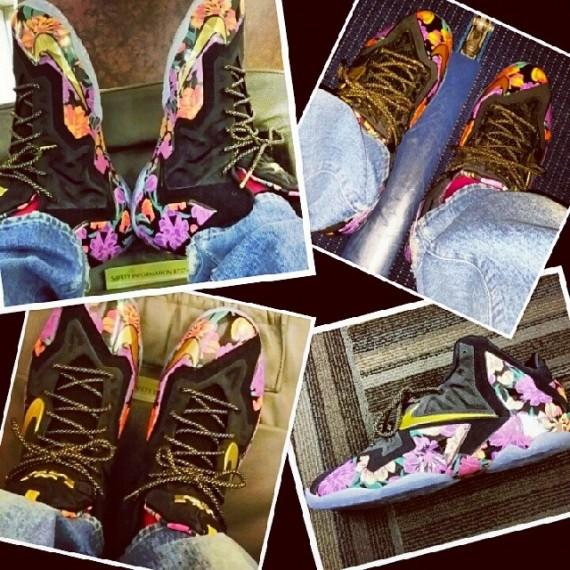 Nike LeBron 11 Floral PE