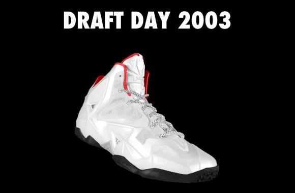 NIKEiD Concept LeBron 11 Draft Day