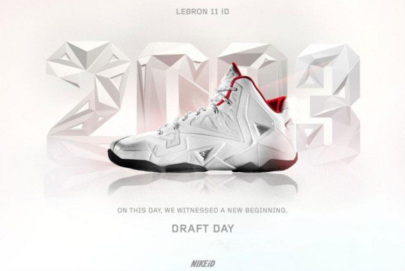 nikeid concept lebron 11 quotdraft dayquot sneakerfiles