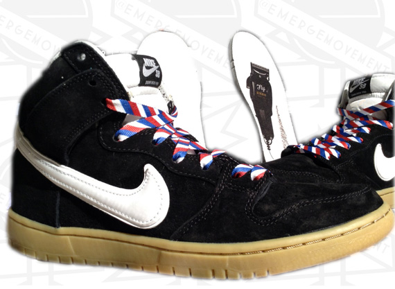 Nike SB Dunk High Barber Another Look
