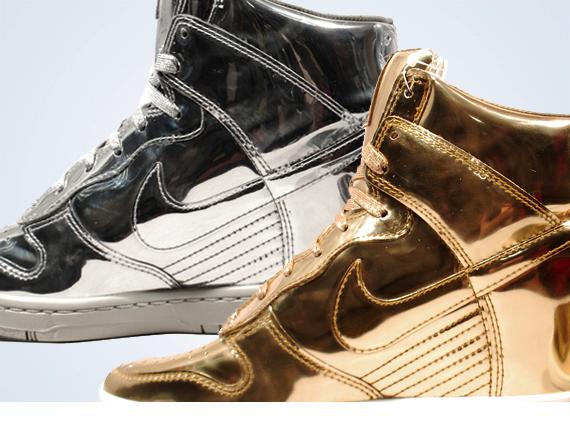 Nike WMNS Dunk Sky Hi Liquid Metal Pack