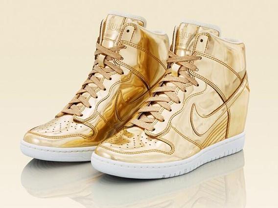 "Nike WMNS Dunk Sky Hi ""Liquid Metal"" Pack – Release Date"