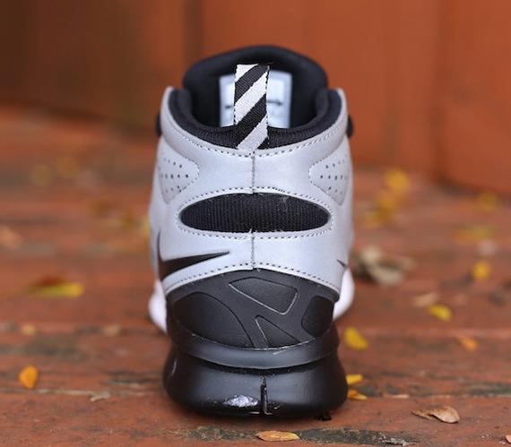 4d0c20dcc47f2 Nike Free Run 2 Sneakerboot WMNS - Black Metallic Silver White ...