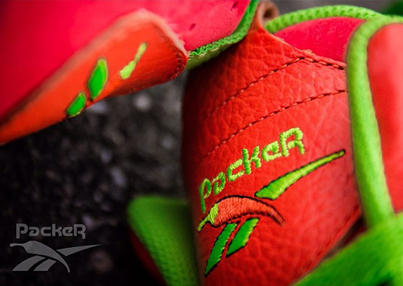 Packer Shoes x Reebok Kamikaze II Remember the Alamo Remix