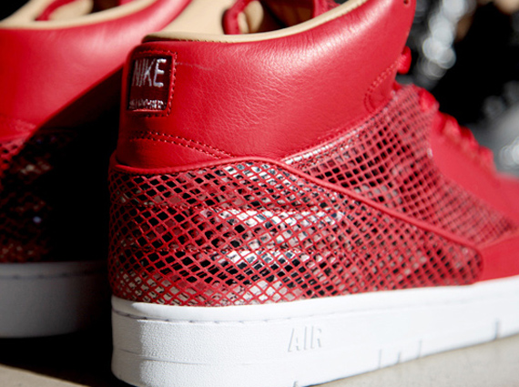 Nike Air Python Red Detailed Look