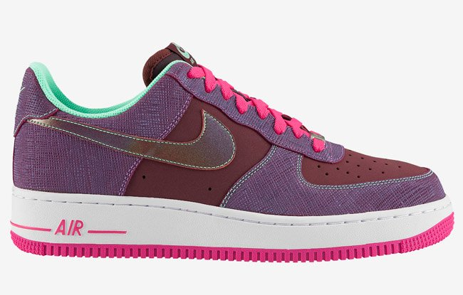 release-reminder-nike-air-force-1-low-cherrywood-red-pink-foil-green-glow