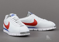 Release Reminder: Nike Cortez NM QS 'White/Gym Red-Metallic Silver-Gym Royal'