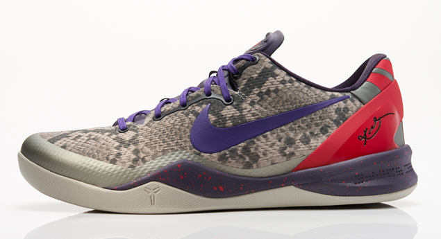 Release Reminder: Nike Kobe VIII (8) System 'Mine Grey/Black-Court Purple-University Red'