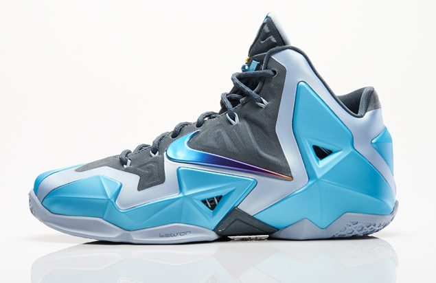 official photos 8122f 667c7 release-reminder-nike-lebron-xi-11-gamma-blue-