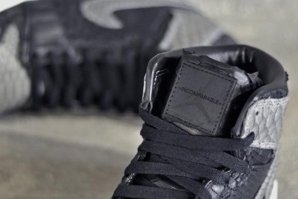 Air Jordan 1 Shadow Python by JBF Customs
