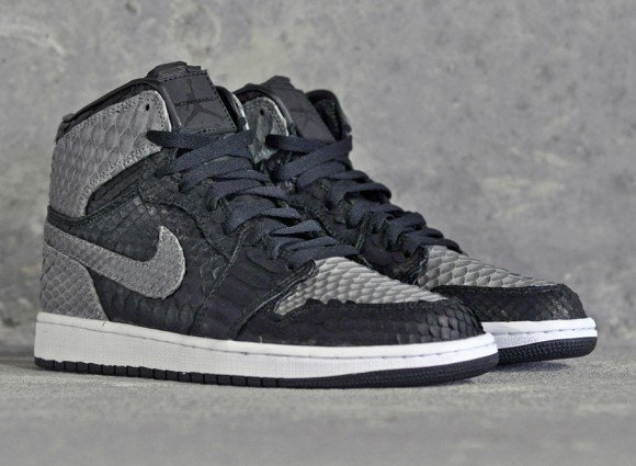 Air Jordan 1 Shadow Python by JBF Customs