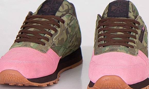 Shoe Gallery x Reebok Classic Leather Flamingos At War Another Look