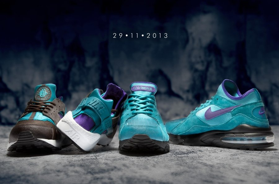 well-wreapped size x Nike Air Teal Pack  f02e7a244