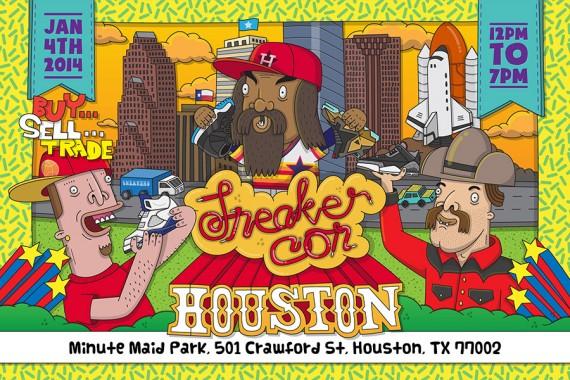 Sneaker Con Houston Saturday January 4th 2014
