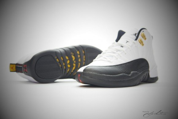 Air Jordan 12 Retro Taxi Yet Another Detailed Look