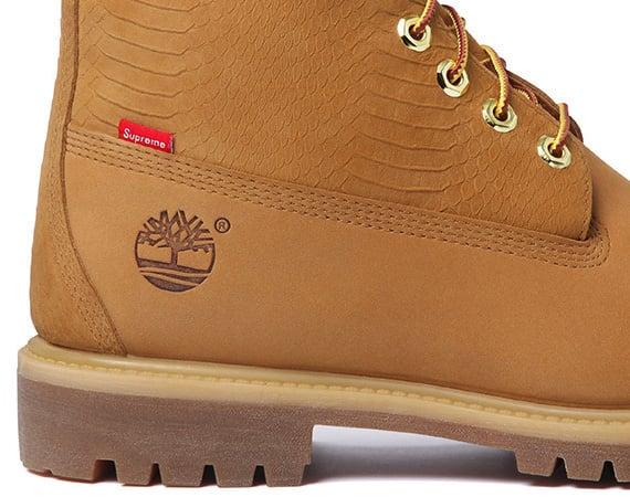DID YOU SEE? Supreme X Timberland Premium Waterproof Boot