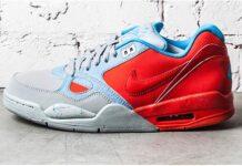 Nike Air Flight 13 Light Crimson and Base Grey