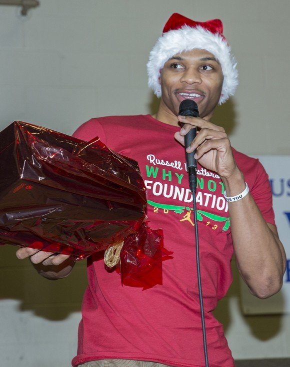 Russell Westbrook & Brand Jordan Grant Christmas Wishes