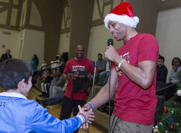 Russell Westbrook & Brand Jordan Grant Christmas Wishes